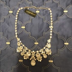 NWT Givenchy crystal necklace